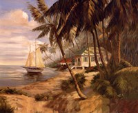 Key West Hideaway Fine Art Print