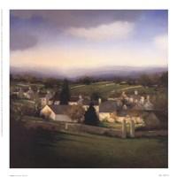 """Alexander Mckenzie - Village by Peggy Abrams - 10"""" x 10"""""""