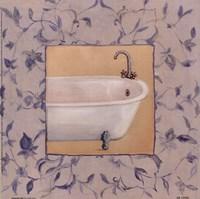 "Capital decor - Provincial Tub I by Peggy Abrams - 9"" x 9"""