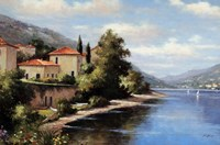 Casa De Lago Fine Art Print