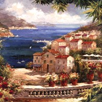 Harbor Vista Fine Art Print