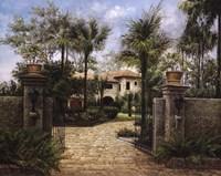 Boca Retreat Fine Art Print
