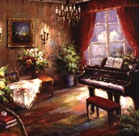 "Music Parlor by Foxwell - 24"" x 24"""
