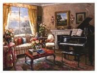 The Music Room Fine Art Print