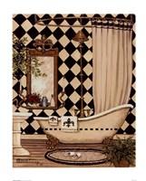 Elegant Bath I Fine Art Print