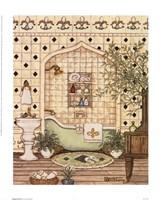 Elegant Bath III Fine Art Print