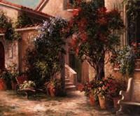 Garden Court Fine Art Print