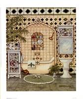 Elegant Bath IV Fine Art Print