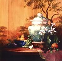 Oriental Orange Fine Art Print