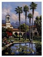 Palm Reflection Fine Art Print