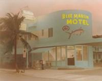 Blue Marlin Hotel Fine Art Print
