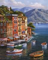 Villagio Del Porto Fine Art Print