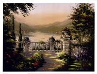 "Secret Gardens I by John Martin - 17"" x 13"""