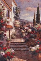 Stairstep Bouquets Fine Art Print