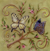 Butterfly Green Fine Art Print