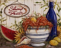 Shrimp Fest Fine Art Print