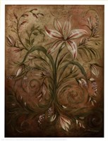 "Tranquil Garden II by Kate McRostie - 13"" x 17"""