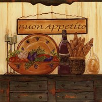 "Buon Appetito by Grace Pullen - 12"" x 12"""