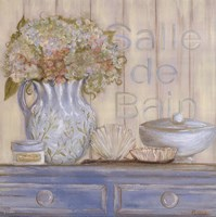 "Country Blue Bain by Grace Pullen - 12"" x 12"""