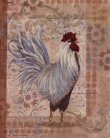 Provence Rooster Framed Print