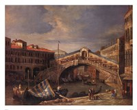 Venice Bridge Fine Art Print