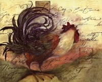 Le Rooster III Fine Art Print