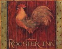 Rooster Inn Framed Print