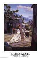 Pueblo De La Colina Fine Art Print
