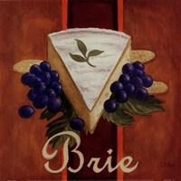 Brie Framed Print