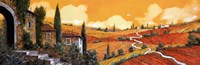 "Terra Di Siena by Guido Borelli - 36"" x 12"""