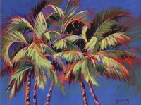 5 Crazy Palms Fine Art Print