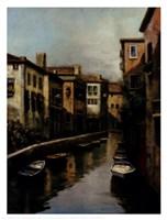 Waterways At Dawn Fine Art Print