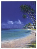 "Bahama Cove by Fred Fieber - 13"" x 17"", FulcrumGallery.com brand"