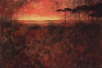 "Fire Sky by Art Fronckowiak - 36"" x 24"""