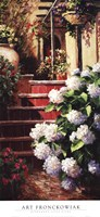 Hydrangea Steps Right Fine Art Print