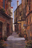 Village Alleyway Fine Art Print