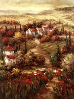 Tuscan Village Fine Art Print