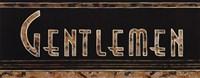 """Gentlemen by Catherine Jones - 20"""" x 8"""", FulcrumGallery.com brand"""