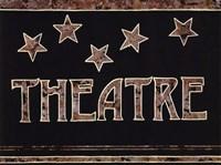 """Theatre by Catherine Jones - 14"""" x 11"""""""