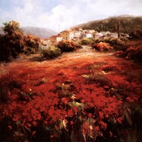 Village Poppies Fine Art Print