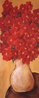 """Red On Gold by Diana Martin - 8"""" x 20"""""""