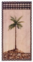 "Tribal Palm ll by Rue De La Paix - 10"" x 19"""