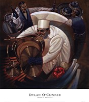 Chefs in Motion II Fine Art Print