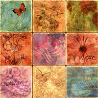 """Inspirational Squares II by Voltaire - 20"""" x 20"""""""