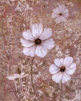 Lace Flowers I Fine Art Print