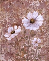 Lace Flowers II Fine Art Print