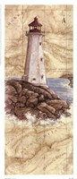 Peggy's Cove Light Fine Art Print