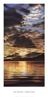 "Liquid Gold by Ken Messom - 14"" x 28"""