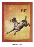 Play Framed Print