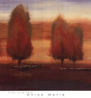 Tree Line Left Fine Art Print